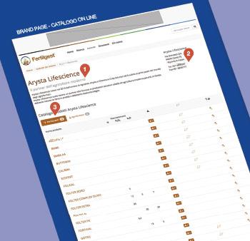 Catalogo On Line Fertilgest - brand page