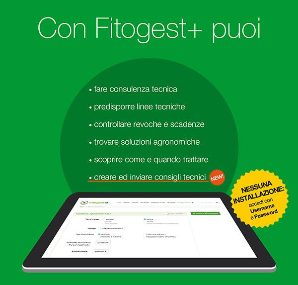 Fitogest+ banca dati fitofarmaci e prodotti fitosanitari - principi attivi